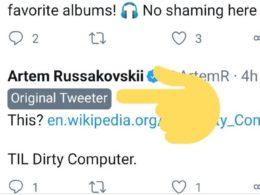 Twitter : Original Tweeter