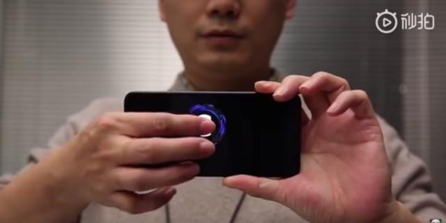 Xiaomi : Tout l'écran du téléphone devient lecteur d'empreinte digitale