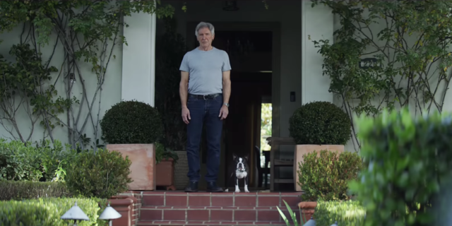 Amazon Alexa : Harrison Ford & chien