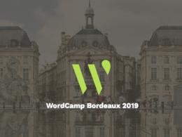 WordCamp Bordeaux 2019