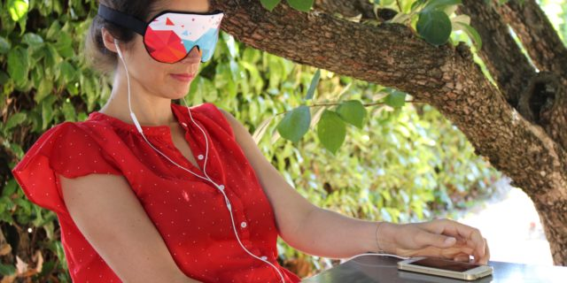 Hypnos, le masque connecté pour s'endormir… ou rêver éveillé
