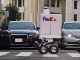 FedEx : Robot de livraison