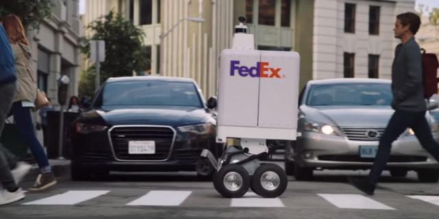 FedEx dévoile à son tour son robot de livraison autonome