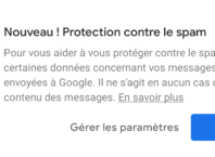 Google Messages : Protection contre le spam sur Android