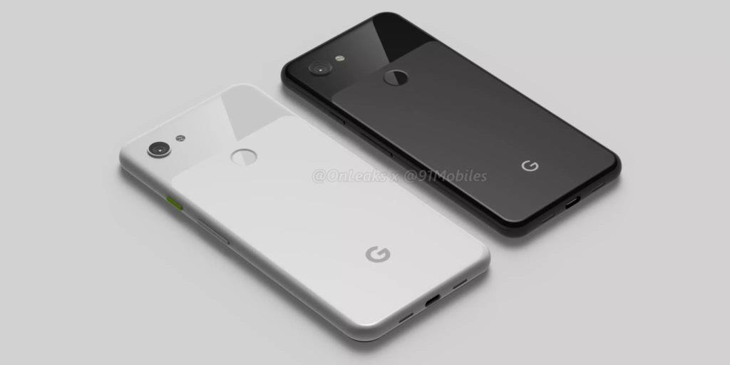 Smartphone : Google Pixel 3a & Google Pixel 3a XL de 5.6 & 6 pouces