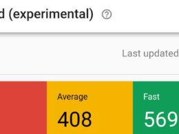 Google Search Console : Rapport webperf