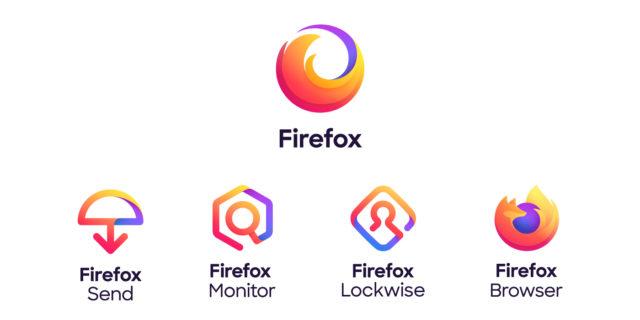 Logos produits & services Firefox
