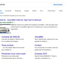 Google : Bouton Rechercher