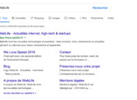 Google : Bouton Rechercher V2