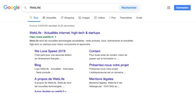 Google : Bouton Rechercher V2 - Saisie & survol de la souris