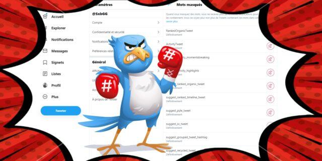 Twitter : reprenez le pouvoir sur les algorithmes et retrouvez un fil qualitatif en moins de deux minutes !