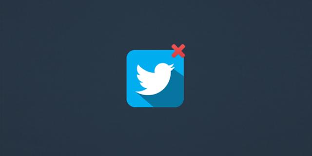 Twitter rétropédale pour la purge — Comptes inactifs