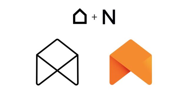 Nouveau logo Netatmo : Maison & N