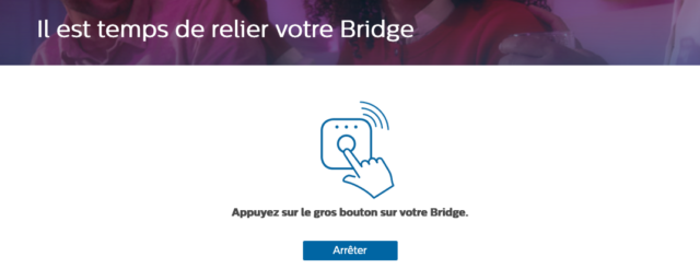 Philips Hue : Relier un bridge