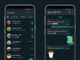 WhatsApp : Dark mode